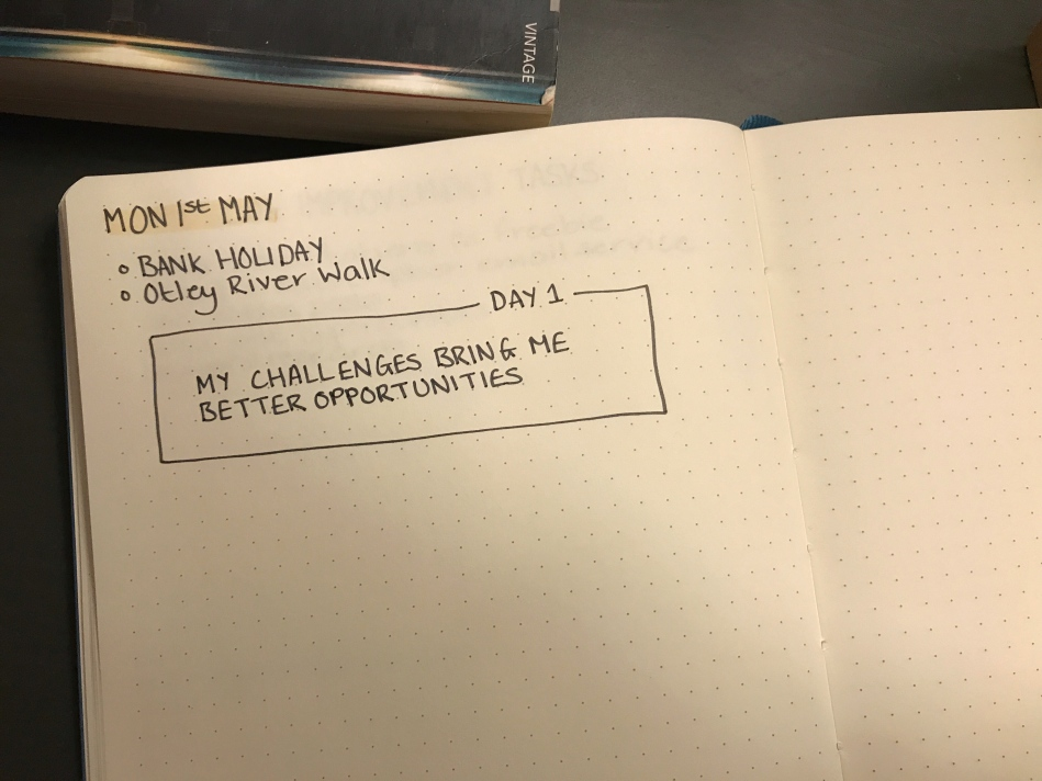 mymindfulbujo May Affirmation Challenge
