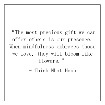 3. Thich Nhat Hanh quote