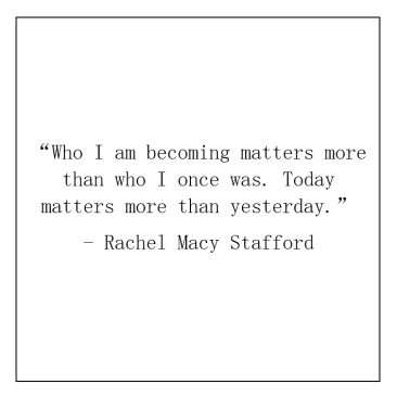 7. Rachel Macy Stafford quote