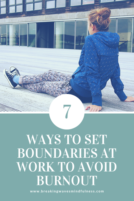 Boundaries at work